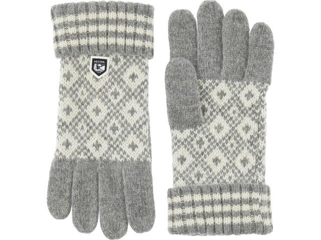 Hestra Fryken Gloves grey/offwhite